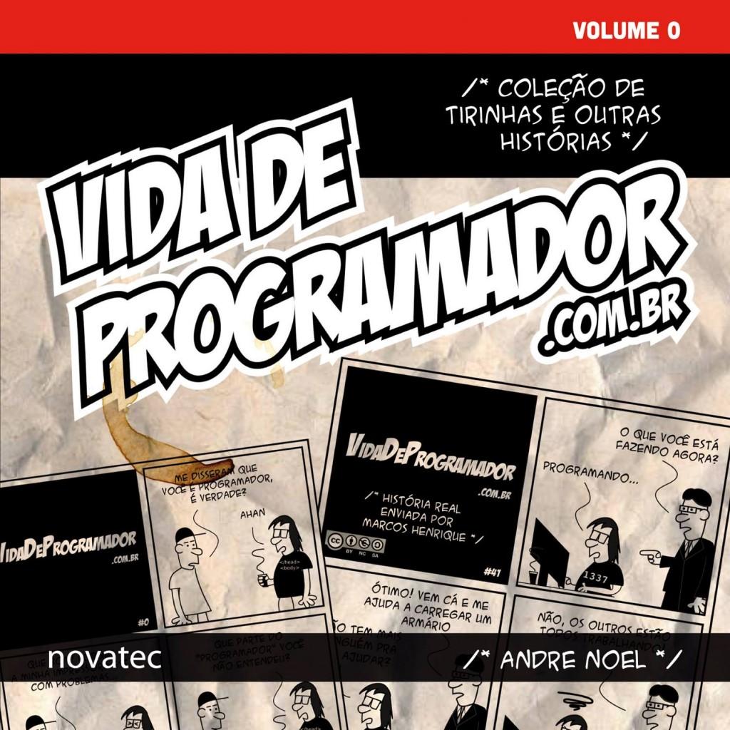 """Concorra a um exemplar de """"Vida de Programador"""", da Novatec Editora"""